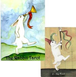 【タロットカード】 【Nakisha】 【正規販売店】 ラビット タロット ポーカーサイズ 第3版 The Rabbit Tarot Deck Third Edition (poker size) うさぎ タロット 占い