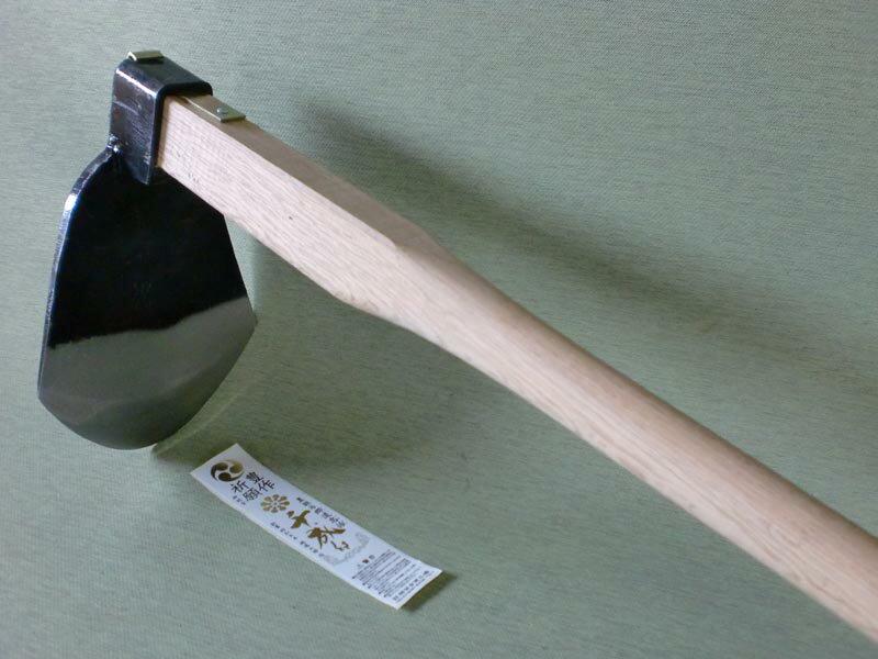 千成 AD-306 千成 唐鍬 とんび 鍛造鋼付 (小) 木柄 90cm 用具 工具 鍬(くわ) クワ くわ ホー Hoe