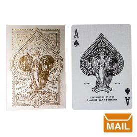 【 メール便 】 トランプ カード おしゃれ マジック タイクーン プレイングカード 【 theory11 セオリー 11 】ivory tycoon playing cards カード マジシャン プレミアム / WakuWaku