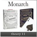 ( あす楽 ) トランプ プロ 仕様 マジック モナーク プレイング カード 【 theory11 セオリー 11 イレブン 】monarch playing ...