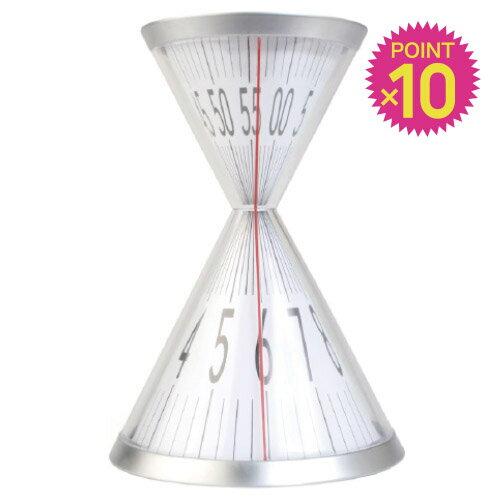 ( 送料無料 ) ( ポイント10倍 ) 砂時計 置き時計 デザイン アワーグラスデスククロック 【KIKKERLAND/キッカー ランド】Hourglass Desk Clock インテリア オブジェ David Dear / WakuWaku