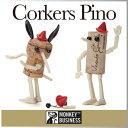 ( あす楽 ) コルク ピノコルカー ピノキオ コルク 【 MONKEY BUSINESS/モンキービジネス 】 Corkers Pino おもしろ …