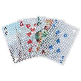 【 メール便 】 トランプ プラスチック ピクセルカード 【 KIKKERLAND/キッカーランド 】 Pixel Cards カード おしゃれ かわいい / WakuWaku