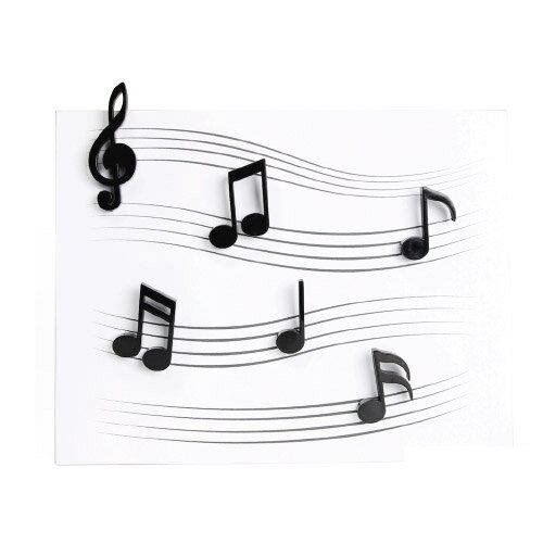 【 メール便 】 磁石 かわいい 音符 音楽 メロディー マグネット 【 QUALY / クオーリー 】Memody magnet おもしろ文具 / WakuWaku