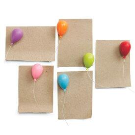 【 メール便 】 マグネット 磁石 かわいい 強力 風船 バルーン マグネット 【 QUALY / クオーリー 】Balloon Magnet インテリア おしゃれ かわいい 文房具 おしゃれ / WakuWaku