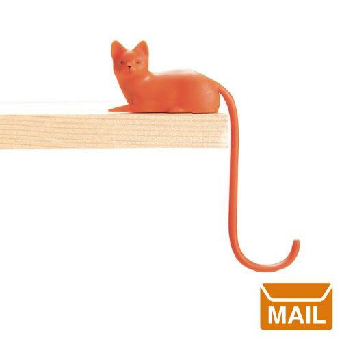 【 メール便 】 スクリーンフック キャット 猫 ネコ フック 【 MONKEY BUSINESS/モンキービジネス 】Ginger Screen hook おもしろ 雑貨 かわいい / WakuWaku