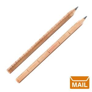 【 メール便 】 おもしろ 文房具 定規 えんぴつ ルーラーペンシル 【 KIKKERLAND / キッカーランド 】 Ruler Pencil set of 2 デザイン 鉛筆 / WakuWaku