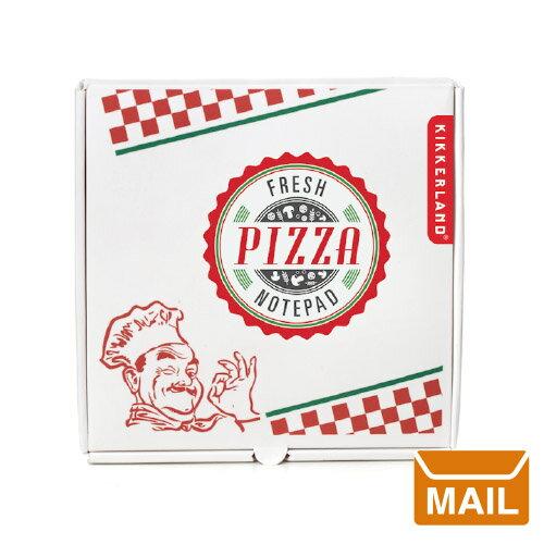 【 メール便 】 おもしろ文具 付箋 ピザノートパッド 【 KIKKERLAND/キッカーランド 】Pizza Notepad 文房具 ピザ ボックス メモパッド / WakuWaku