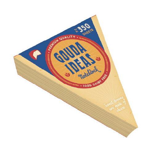 チーズ メモブロック cheese memoblock おもしろ文房具 メモ帳 / WakuWaku