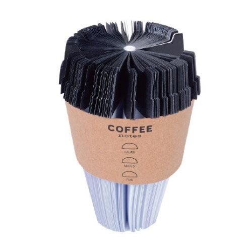おもしろ文具 コーヒー ノート メモ Coffee Notes メモブロック ブロックメモ デスク インテリア オブジェ おもしろ 文房具 雑貨 コーヒー 好き おもしろ 景品 プレゼント / WakuWaku