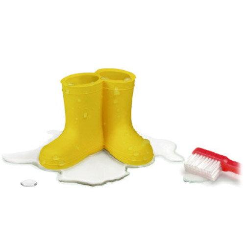 歯ブラシ ホルダー 長靴 ブーツ レインブーツ ハブラシホルダー rainboots Wet Booties toothbrush holder おもしろ雑貨 かわいい ながぐつ 小さい コンパクト シリコン カップル ペア / WakuWaku
