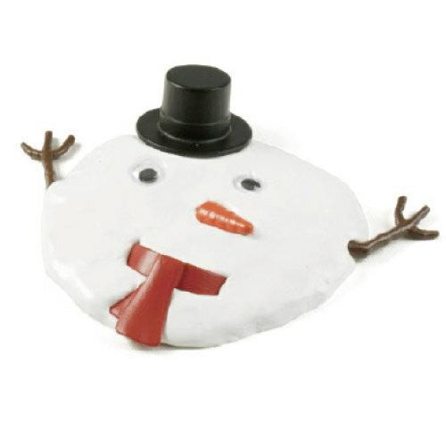 雪だるま 溶ける 雪ダルマ制作 何度も使える メルティング スノー マン 【melting snow man】シリコン粘土 / WakuWaku