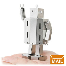 【 メール便 】 おもしろ プレゼント おもしろ雑貨 組み立てロボット ファクトリーロボ FACTORY ROBO 浜野製作所 / WakuWaku