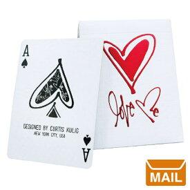 【 メール便 】 トランプ カード おしゃれ かわいい ラブミープレイングカード ハート 【 theory11 セオリー 11 】Love Me Playing Card Curtis Kulig カーティス クーリッグ カード / WakuWaku