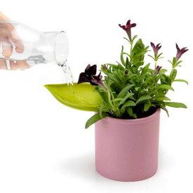 じょうろ 水差し はっぱ ガーデニング 植物 植木鉢 便利 リーフロウ 葉っぱ 【 Peleg Design / ペレグデザイン 】 leaflow おもしろ雑貨 かわいい おしゃれ ディスプレイ / WakuWaku