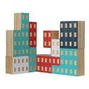 置物 おしゃれ ビル 建物 ブロック ブロッキテクチャー 【 AREAWARE / エリアウエア 】Blockitecture 木製 建築 模型 …