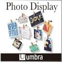 ( あす楽 ) 写真 クリップ ディスプレイ ピンチ フォトクリップ 【 Umbra/アンブラ 】Pinch Photo Display 木製 クリップ ポスト...