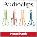 ( あす楽 ) おもしろ文具 クリップ ギターペーパークリップ 【 Rocket Design / ロケット 】 Audioclips 変わった デザイン おも...