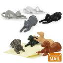 ( あす楽 ) ネコ マグネット 4匹 セット 【 FRED / フレッド 】 MAGNETICATS クロネコ フック 猫 冷蔵庫 磁石 / WakuWaku