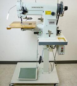 総合送り工業用腕ミシン LC1-341 0番糸対応 革/帆布 厚物縫い サーボモーター付