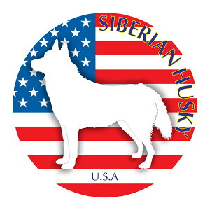 シベリアンハスキー マウスパッド 吸盤 吸着 グッズ 動物 イラスト 癒し アニマル ドッグ マウスパット 犬 いぬ イヌ シルエット 影 アクセサリー