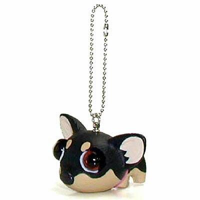 犬 マスコット THE DOG キーホルダー [ チワワ ] フィギア いぬ 犬 人形 アクセサリー グッズ