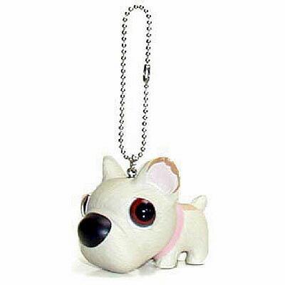 犬 マスコット THE DOG キーホルダー [ フレンチブルドッグ(ホワイト) ] フィギア いぬ 犬 人形 アクセサリー グッズ
