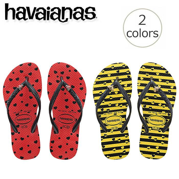 【ハワイアナス】 ビーチサンダル havaianas キッズ スリム・バグス (KIDS SLIM BUGS) キッズ 子供旧商品につき値下げ【あす楽対応】