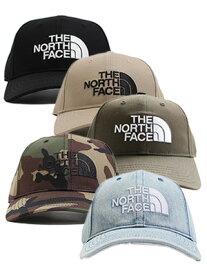 ザ ノースフェイス THE NORTH FACE ロゴキャップ TNF LOGO CAP -5.COLOR- メンズ K(ブラック)/WB(ツイルベージュ)/ND(ニュートーブダークグリーン)/CF(カモフラージュ)/BL(ブリーチデニム)