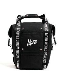 モブ MOBB ハンドル バック パック HANDLE BACK PACK -BLACK- メンズ ユニセックス フリーサイズ ブラック