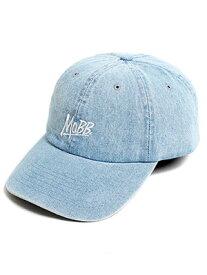 モブ MOBB ロゴ ローキャップ MOBB OG LOW CAP -W.INDIGO- メンズ ユニセックス ウォッシュド・インディゴ