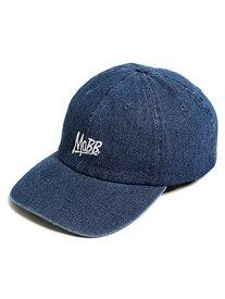 モブ MOBB ロゴ ローキャップ MOBB OG LOW CAP -INDIGO- メンズ ユニセックス インディゴ