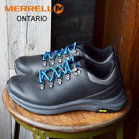 ★40%OFF★MERRELL ONTARIO メレル オンタリオ BLACK ブラック コンフォート 靴 シューズ