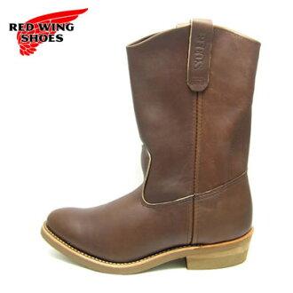 """RED WING紅翅膀長筒靴1155 11 inchipekosu RW-1155 11""""PECOS berubabuma VELVA BOOMER[工作長筒靴·西部、MADE IN USA]"""
