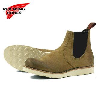 紅翼紅靴 8898 切爾西發射器 RW 8898 切爾西牧場主霍桑騾子斯金納霍桑 MULESKINNER [鞋工作靴子側戈爾和製造在美國]