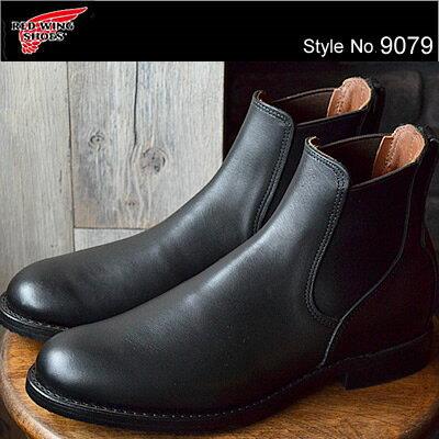 RED WING レッドウィング 9079 Mil-1 Congress Boots ミル・ワン・コングレス・ブーツ Black Featherstone ブラック フェザーストーン サイドゴア ワークブーツ シューズ フォーマル クラシックドレス 【smtb-TD】【saitama】