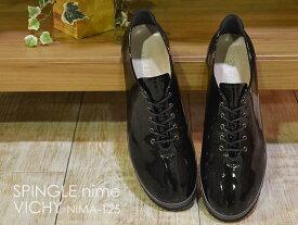 SPINGLE MOVE スピングルムーヴ スピングルムーブ SPINGLE nima スピングルニーマ VICHY NIMA-125 BLACK ブラック 靴 レディーススニーカー シューズ スピングル 【smtb-TD】【saitama】