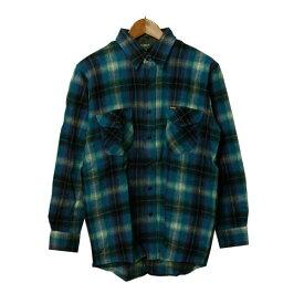 OSHKOSH(オシュコシュ)ウール チェックシャツ メンズ,シャツ,ネルシャツ,長袖,カジュアル,カジュアルシャツ,アウトレット,レア,希少