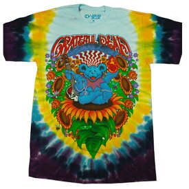 GRATEFUL DEAD(グレイトフルデッド)バンドTシャツ メンズ,プリントTシャツ,タイダイ,ロックバンド,カジュアル,アメリカ,USA,レア,希少
