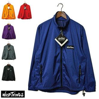 簡單,wild things(粗野的東西)窗襯衫人,風衣,尼龍茄克,XL,大的尺寸,furujippu,美國,usa,休閒,運動,戶外,滯銷商品罕見并且罕見的