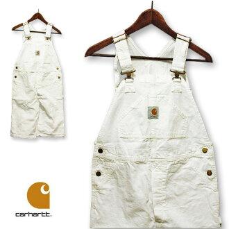 carhartt(汽車心)連褲工作服白短長人促銷,白,休閒,罕見的罕見