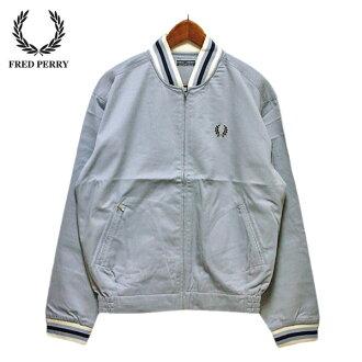 被污染,有!Fred Perry防寒夾克服人FRED PERRY海外名牌,運動,kireime,罕見的罕見并且淡藍色,淡藍色