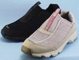 【Supplist】サプリストL104- 3E【婦人靴】【スリッポン】【反射材】【ワイド設計】【撥水加工】