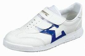 【ジャガー】シグマ03ホワイト/ブルー2E【マジック】【軽量】【紳士靴】【白/青】【定番】【国産】【Made in Japan】