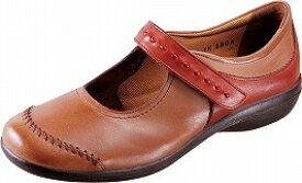 【SPORTH】スポルス5540オークコンビ4E【婦人靴】【幅広】【天然皮革】【国産】