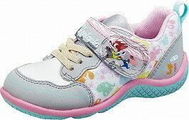 【Disneyズートピア】DN-C1186グレイ2E【子供靴】【ズートピア】【通園】【洗えるインソール】【Ag+抗菌防臭】【つま先ゆったり】【ジュディとニック】