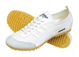 【JAGUAR】ジャガーエースGホワイト2E【紳士靴】【軽量設計】【Ag+抗菌防臭】【通学履】