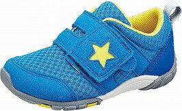 【MOONSTAR】MS-C2166ブルー2E【通園靴】【子供靴】【カウンターボックス】【つま先ゆったり】【フレックスジョイント】【ハードシャンク】【機能性カップインソール】【ハーフサイズ】【あしゆbeゲンキシューズ】