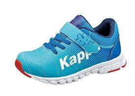 【Kappa】KP-SPC16ディーヴォ ブルー2E【子供靴】【軽量設計】【通園】【合皮】【抗菌防臭中敷】【つま先ゆったり】【カウンターホールド】