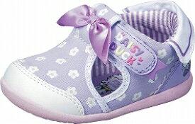 【Disney】DN-B1211パープル【サマーシューズ】【ベビー靴】【デイジーダック】【つま先保護】【つま先ゆったり】